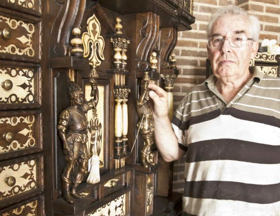 Julio Martín De La Fuente. El Bargueño Toledano